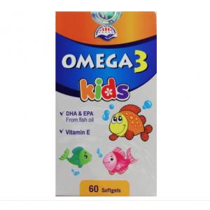 Omega-3 Kids New, 60 капсул Вьетнам